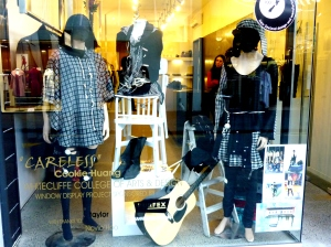 My window display, sponsored by Tailor Boutique